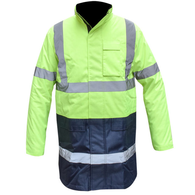 safety jacket blue